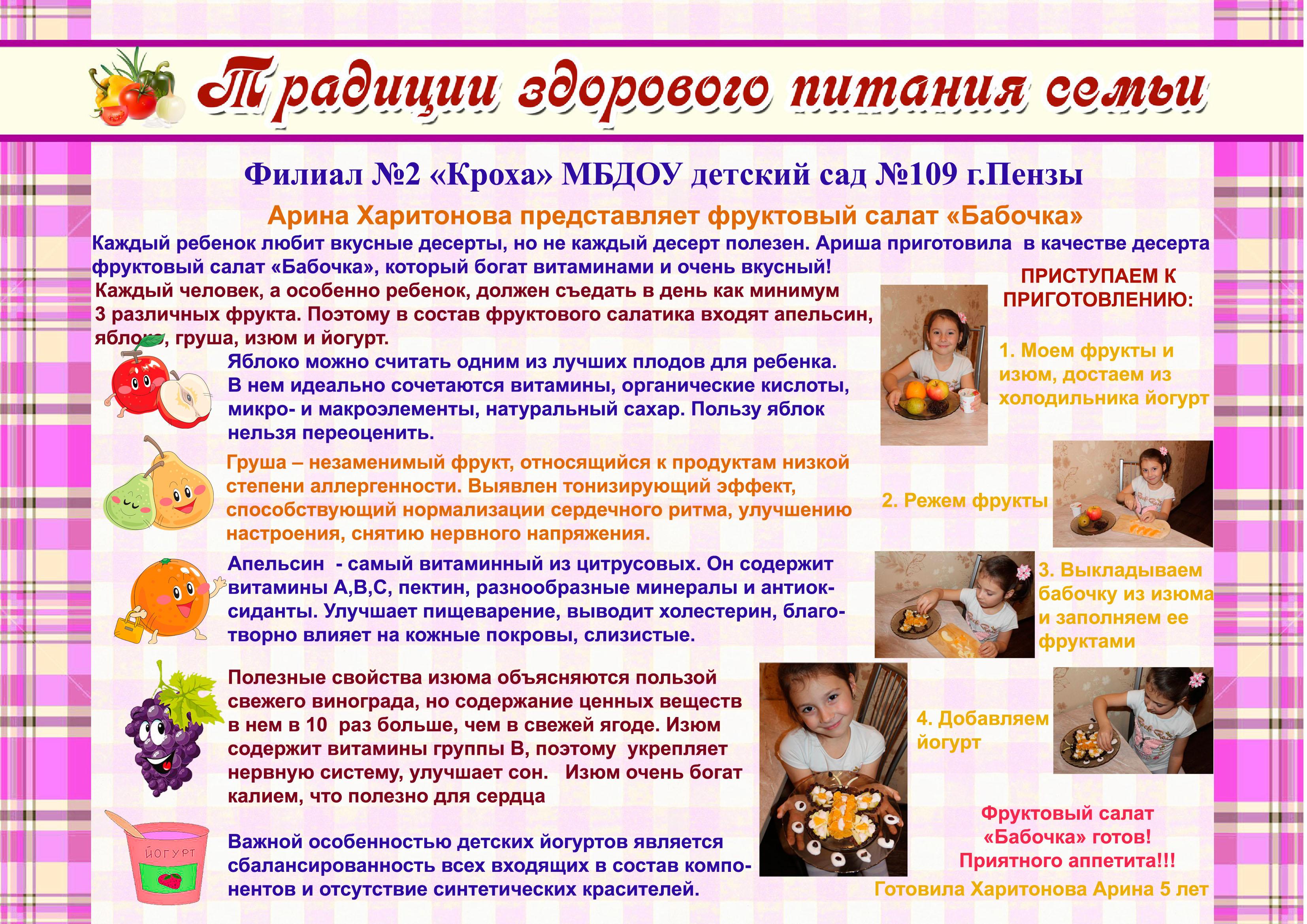 детям про здоровое питание